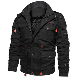 Thick Winter Parka Australia - Dropshipping Hot Sale Winter Jacket Parkas Men Thick Warm Casual Outwear Jackets and Coats For Men jaquetas masculina inverno