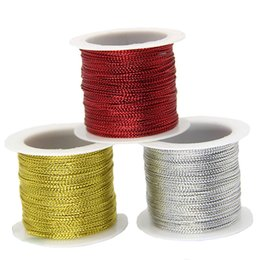 Trim Cord 1 Yard Antique French Sparkle Silver Metal Light Weight Thread