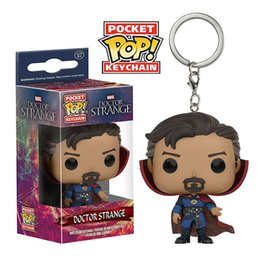 Figures Australia - Avengers Endgame Funko Pop Marvel Movies Action Figures Toy PVC Superhero Doctor Strange Model Accessory Keychain 1 pack = 100 pieces