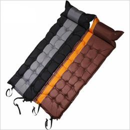 $enCountryForm.capitalKeyWord Australia - camping tents Desert&Fox 1pc Self-Inflating Sleeping Pads with Air Pillow,186 x 62cm Tent Air Mattress Portable Lightweight Sleeping Pads