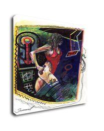 $enCountryForm.capitalKeyWord Australia - Samarel Abstract Nude Art The Girl In Motion,Oil Painting Reproduction High Quality Giclee Print on Canvas Modern Home Art Decor W1070