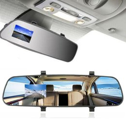 $enCountryForm.capitalKeyWord Australia - 2.7'' HD 1080P TFT Rearview Mirror Digital Video Record DVR Cam Video Recorder Vehicle Rear View Camera w PC-USB Data Cable car