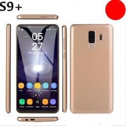 5.8 дюймовый Goophone S9 + плюс 1 ГБ ОЗУ 4 ГБ ROM Мобильный телефон MT6580P Четырехъядерный процессор Разблокированный смартфон X117 на Распродаже