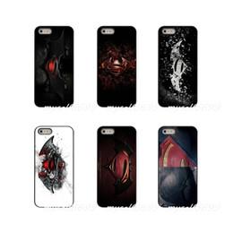 Superman Iphone 5s Case Australia - Movie Poster Batman vs Superman logo 2016 Hard Phone Case Cover For Apple iPhone X XR XS MAX 4 4S 5 5S 5C SE 6 6S 7 8 Plus ipod touch 4 5 6