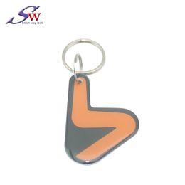 $enCountryForm.capitalKeyWord Australia - Custom Logo Different shape Passive Proximity Waterproof NFC 13.56Mhz Smart Ultralight Chip RFID Epoxy Keychain