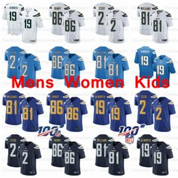 Stick charger online shopping - 86 Hunter Henry Mike Williams Mens Women Youth Kids Los Angeles Jersey Charger Lance Alworth Easton Stick Football Jerseys