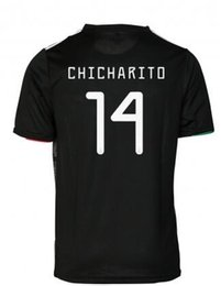 33eaee4f578 2019 Gold cup Mexico blackout soccer jerseys,14 J.Hernandez 10 J.Dos Santos  19 O.Peralta 22 H. Lozano Customized Thai Quality Soccer Jerseys