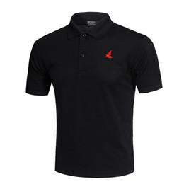 $enCountryForm.capitalKeyWord UK - Classic Fashion Golf Polo Shirt White Men Summer Breathable Quick Dry Sport Training Short Sleeve Sportswear Workout Cotton T-shirt