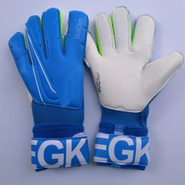 Großhandel 2019 Real Logo Letter VG3 Fußballtorwarthandschuhe Original Torwarthandschuhe Torwarthandschuhe Bola De Futebol Handschuhe Luva De Goleiro