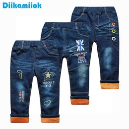 $enCountryForm.capitalKeyWord Australia - Hot New Winter Thick Baby Boys Thermal Jeans Children Clothing Kids Trousers Keep Thickening Warm Pants Denim For Boy 1-6 Year J190517