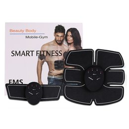 electric fat massager Australia - Multifunction EMS Trainers Health Abdominal Machine Electric Muscle Stimulator ABS Trainer fitness Fat Burning Massager Muscle Trainer