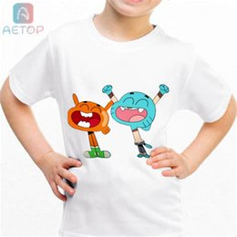 $enCountryForm.capitalKeyWord UK - NEW The Amazing World Of Gumball 013 Kingdom Funny T-shirt Kids Baby Summer Cute Clothes Boys Girls Tops T