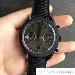 $enCountryForm.capitalKeyWord NZ - Jh Top Wristwatches Swiss 9300 Chronograph Automatic 28800 Vph Black Carbon Plating 316l Steel Case Convex Sapphire Super Luminous
