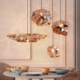 Kitchen Cafe Australia - Modern Stainless Steel Phantom Sparks Irregular Ball Pendant Lights Kitchen Hanging Lamps Bar Restaurant Cafe Home Decor Lamps