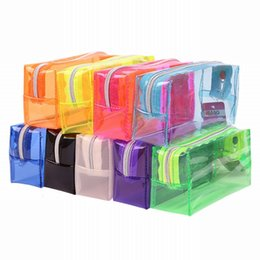 $enCountryForm.capitalKeyWord NZ - SHUJIN Candy Pencil EVA Plastic Case School students Stationery Travel Cosmetic Bag Ladies Mini Storage Bags Makeup Organizer