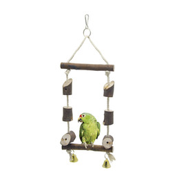 $enCountryForm.capitalKeyWord NZ - Raw Wood Swing Gnawing Station Small Favour And Put Sb. In Important Position Product Bird Toys Parrot Play Riz-zoawd Manual Toys