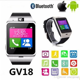 $enCountryForm.capitalKeyWord Australia - Smart Watch Wearable Devices GV18 Aplus Children Kid Wristwatch Bluetooth Smartwatch Phone sport wristwatch Radio PK GT08 U8 M26