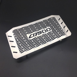 $enCountryForm.capitalKeyWord NZ - New stainless steel Motorcycle Radiator Grill Grille Guard Cover Fit Honda CB500 2013-2016