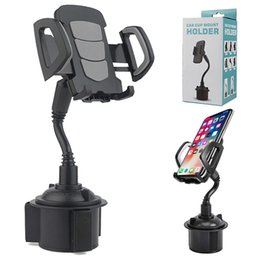 Gooseneck car phone holder online shopping - Cup Phone Holder for Car Cell Phone Holder Car Mount With Adjustable Gooseneck for iPhone Samsung Smartphones