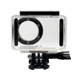 xiaomi camera waterproof case NZ - New Black Waterproof Housing Case Mount Kit For Xiaomi Mijia Mini 4k Action Camera Video Camera Sport Camera