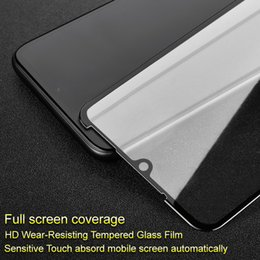 oppo screen NZ - wholesale Pro+ Screen Protector for OPPO A7x Full Coverage Tempered Glass for OPPO A7x Full Glue Absord Automatic