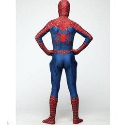 men leotards Australia - Halloween Costumes Spider-Man Cosplay for Adults Disfraces De Halloween Costume Classic Tony Remy Piece Leotard Characters Playing Sets