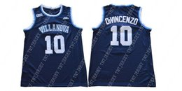 Cheap custom 2018 Villanova No. 10 Donte DiVincenzo College Navy Blue Jersey  Stitched Customize any number name MEN WOMEN YOUTH XS-5XL 3ecafa569
