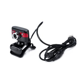 Webcam online shopping - HD Webcam M Pixels LED Degrees Rotatable Computer Web Camera A886 Built in Microphone For PC Laptop Camcorder XR649