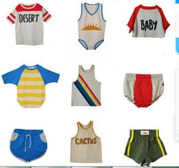 $enCountryForm.capitalKeyWord Australia - Kids T Shirt 2019 Summer Strafina Boys Girls Top Tee T Shirts Baby Tank Casual Shorts Pants For Children Clothes Vest Vestido Y190516