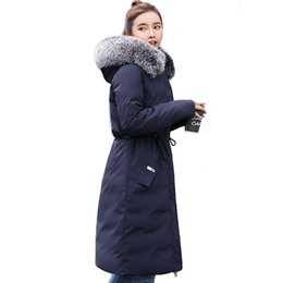 $enCountryForm.capitalKeyWord UK - 2019 Double 2 side Women Winter Jacket Hooded With Fur Long Female Down Coat High Quality Womens Parka Warm