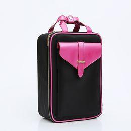 Types Makeup Box UK - DINIWELL Cosmetic Bag Travel Organizer Professional Makeup Artist Box Large-