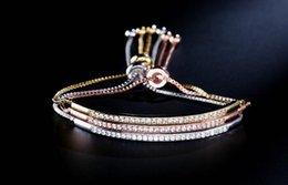 Matching Jewelry Sets Wholesales Australia - 2019 Hot new Korean version of creative fashion bracelet female micro set AAA zircon simple match
