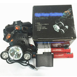 Selling lampS online shopping - CRESTECH Best Selling T6 Headlamp Lumens T6 Head Lamp High Power LED Headlamp Head Lamp Flashlight Head charger