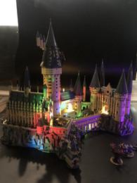 $enCountryForm.capitalKeyWord Australia - Harry Potter Hogwart Castle LED Light Set For Compatible IEGOset 71043 16060 Building Blocks bricks Toys Gifts