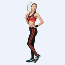 pink grey white leggings 2019 - Women Yoga Pants Gym 3D Print Tight Sports Leggings Fitness Slim Sweat Trousers Bodybuilding Elastic Capris Workout Lady