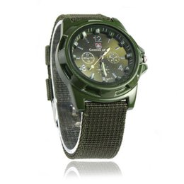 $enCountryForm.capitalKeyWord Australia - Fashion Gemius Army Racing Force Sport Men Officer Fabric Band Watch