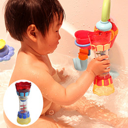 swim cup Australia - Baby Bath Toys Toddler Plastic Bath Toy Swim Water Whirly Wand Cup Beach Toys Swimming Toys for Children Kids Boys Birthday Gift
