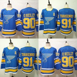 $enCountryForm.capitalKeyWord Australia - 91 Vladimir Tarasenko St. Louis Blues 2019 The Third Editio 90 Ryan O'Reilly Stithced Men Hockey Jersey S-3XL Free Shiping