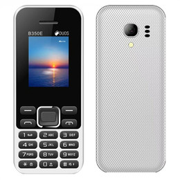 keyboard hebrew Canada - 1.77inch B350E Mobile phone cellphone 32G ROM Dual sim card 2.0 bluetooth keyboard button phone Support Audio MP3 Media MP4 FM