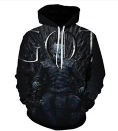 $enCountryForm.capitalKeyWord UK - 2019 Newest Fashion Game of Thrones Cosplay Daenerys Targaryen Costume Hoodies Sweatshirts Loose Fit Casual Men Coat 3d Jacket N499