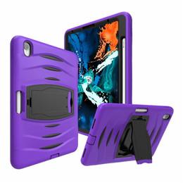 $enCountryForm.capitalKeyWord Australia - iPad case 3 in 1 Hybrid Shockproof Armor Holder for Ipad 11 inch Protect shell cases have Pen slot