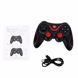 bluetooth remote for android tablet Australia - Bluetooth Gamepad Wireless Joystick Joypad Gaming Controller Remote Control For Tablet PC For Android Smartphone With Holder