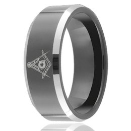 $enCountryForm.capitalKeyWord UK - Custom Symbol laser engraving Black Tungsten Ring wholesales 8mm