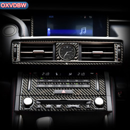 $enCountryForm.capitalKeyWord Australia - For LEXUS IS300H 200 250 350Accessories Carbon fiber Interior Trim Outlet CD Air Conditioning Central control Panel Car stickers 2013-2019