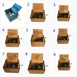 Kids wooden games online shopping - Harry Potter Wooden Music Box Game of Thrones Music Box Theme Handmade Engraved Music Box Chirstmas Decoration Novelty Items
