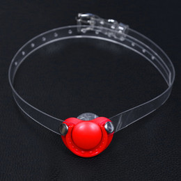 Bdsm Gears Australia - Locking Breathable Silicone Mouth Gag BDSM Gags for Bitch Torture Slave Training Group Sex Party Fetish Play Bondage Gear Adult Sex Toys