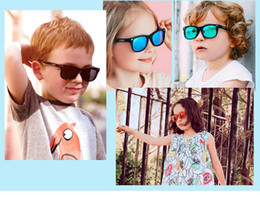 old resin Australia - Lovely candy non-toxic 3-12 old kids pilot sunglasses UV400 super-light&elastic medical TPEE quality polarized lens 49-14-122 M843 wholesale