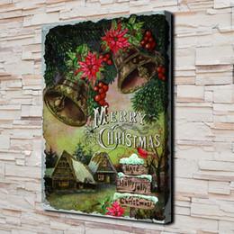 $enCountryForm.capitalKeyWord UK - Merry Christmas,1 Pieces Canvas Prints Wall Art Oil Painting Home Decor (Unframed Framed)
