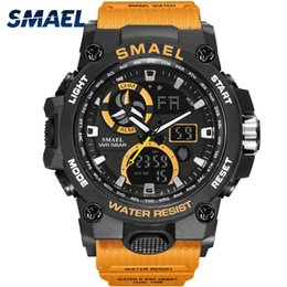 $enCountryForm.capitalKeyWord Australia - Sport Watch Men Smael Brand Toy Mens Watches Military Army S Shock 50m Waterproof Wristwatches 8011 Fashion Men Watches Sport Y19052103