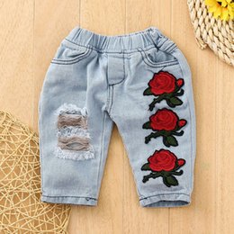 girls winter shirts for kids NZ - Newborn Infant Baby Girls Clothes Set Lace Flower Tops Shirt+Pants Outfits Sets Winter clothes for children kids clothing 1n5